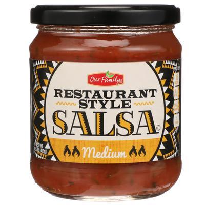 Our Family Medium Restaurant Style Salsa