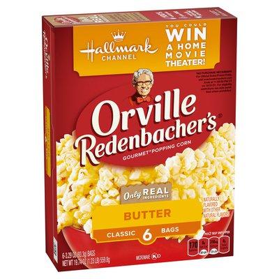 Orville Redenbacher's Butter Classic Bag