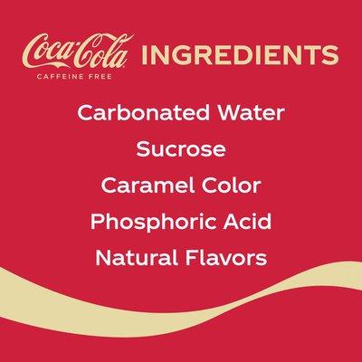 Coca-Cola Caffeine Free Soda Soft Drink