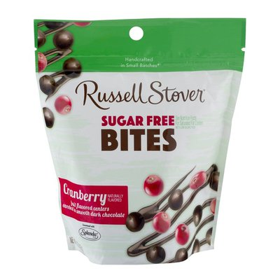 Russell Stover Sugar Free Bites Cranberry
