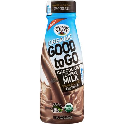 Organic Valley Organic Good To Go Chocolate Lowfat Milk