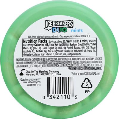 Ice Breakers Mints, Sugar Free, Fruit + Cool Watermelon