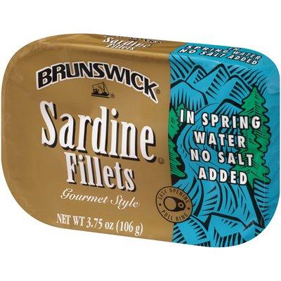 Brunswick Sardine Fillets in Spring Water No Salt Added