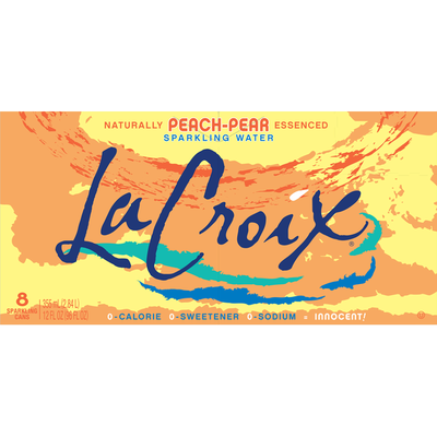 LaCroix Sparkling Water, Peach-Pear