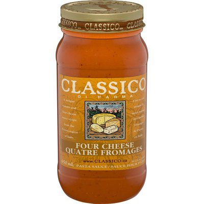 Classico Di Parma Four Cheese Pasta Sauce