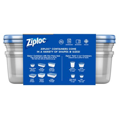Ziploc Container Large Rectangle