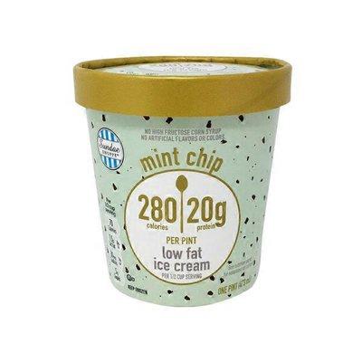 Sundae Shoppe Mint Chip Protein Ice Cream