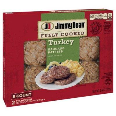 Jimmy Dean Fully Cooked Breakfast Turkey Sausage Patties