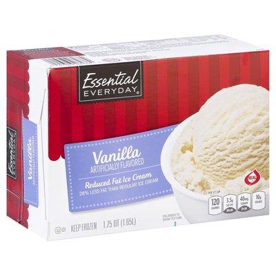 Essential Everyday Vanilla Reduced Fat Ice Cream