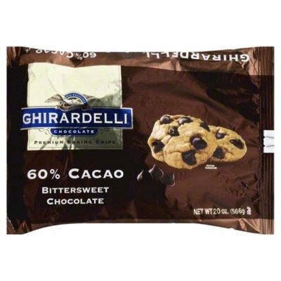 Ghirardelli Chocolate 60% Cacao Bittersweet Chocolate Premium Baking Chips