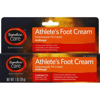 Signature Athlete's Foot Cream