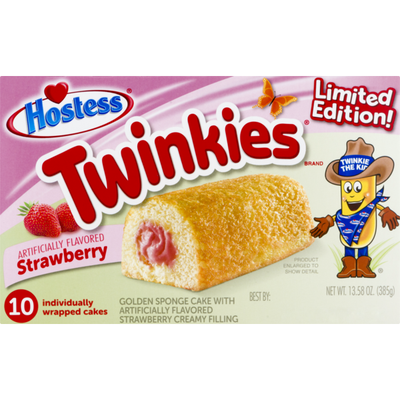 Hostess Twinkies, Strawberry