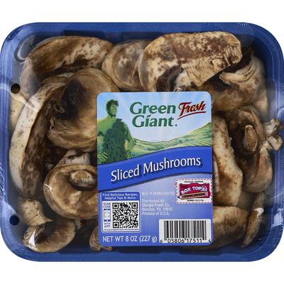 Green Giant Mushrooms, Sliced
