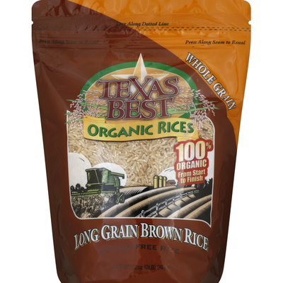 Texas Best Brown Rice, Long Grain