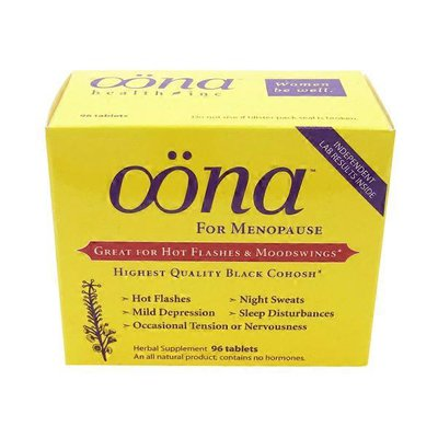 Oona For Menopause Highest Quality Black Cohosh Tablets