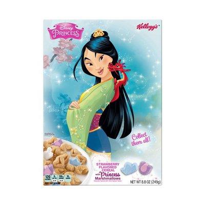 Kellogg's Disney Princess Breakfast Cereal Strawberry with Princess Marshmallows