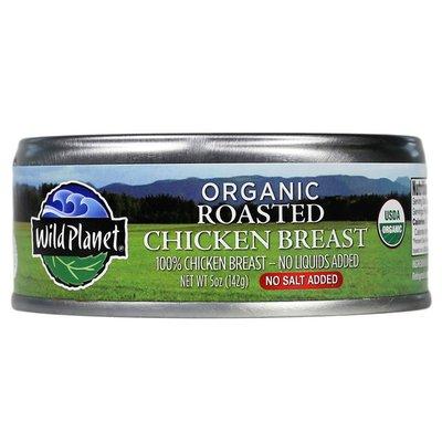 Wild Planet Organic Roasted Chicken Breast No Salt Added