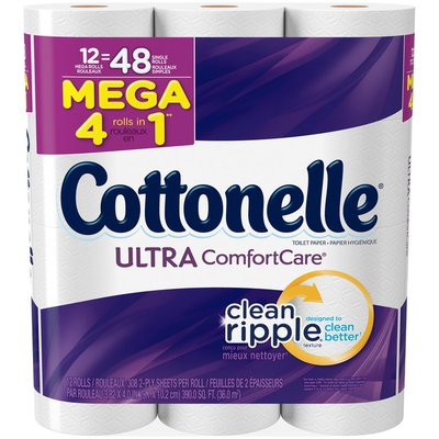 Cottonelle Ultra ComfortCare Mega Roll Toilet Paper
