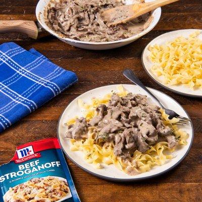 McCormick®  Beef Stroganoff Sauce Seasoning Mix