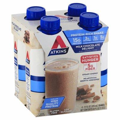 Atkins Protein-Rich Shake, Milk Chocolate Delight