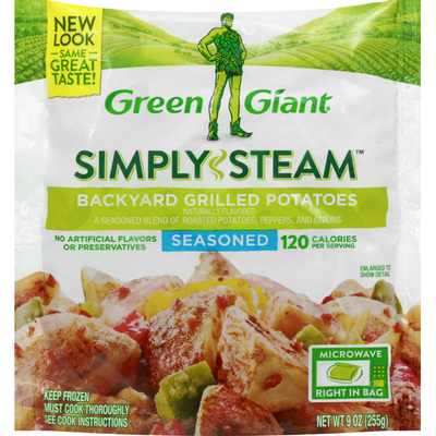 Green Giant Seasoned Backyard Grilled Potatoes