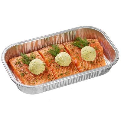 Kirkland Signature Salmon Milano with Basil Pesto Butter