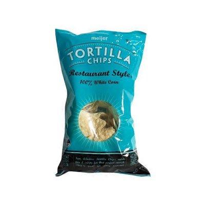 Meijer Restaurant Style Tortilla Chips