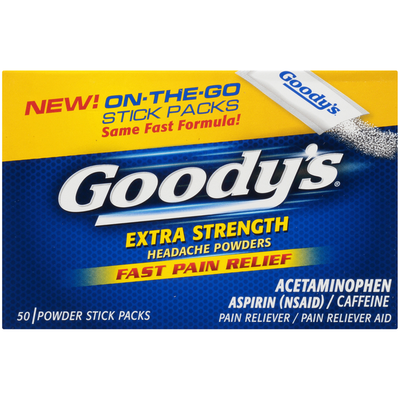 Goody Extra Strength Headache Powders Pain Reliever/Pain Reliever Aid