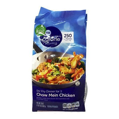 Eating Right Chicken Chow Mein