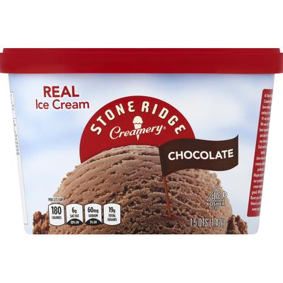 Stoneridge Creamery Ice Cream, Chocolate