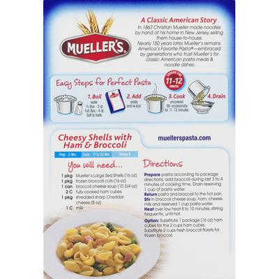 Mueller's Large Sea Shells Macaroni