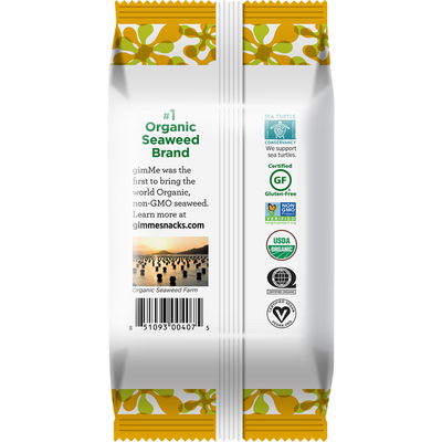 gimMe Seaweed, Premium Roasted, Toasted Sesame