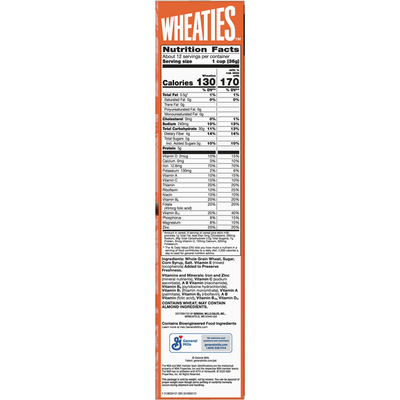 Wheaties Whole Grain Flakes Cereal