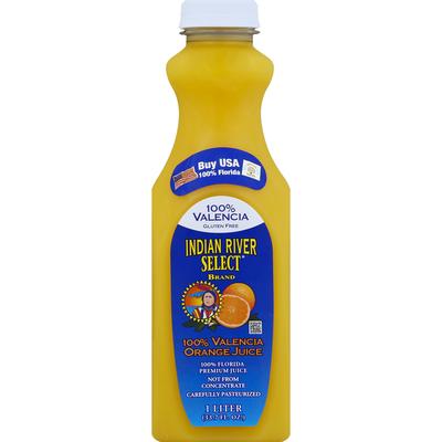 Indian River Select 100% Juice, Valencia Orange