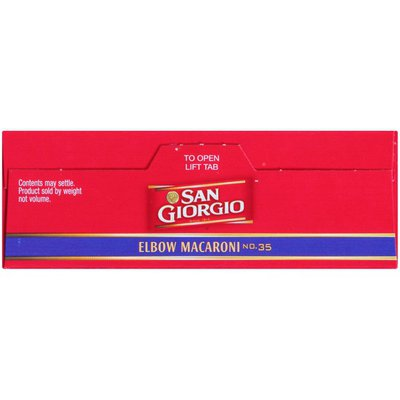 San Giorgio Elbow Macaroni No. 35