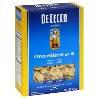 De Cecco Pasta Orecchiette No. 91