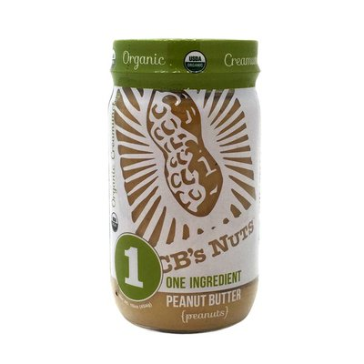C Bs Nuts Peanut Butter, Organic, Creamunchy