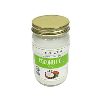 Made With. Organic Virgin Coconut Oil