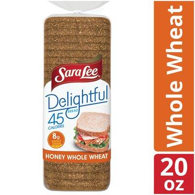 Sara Lee Delightful Honey Whole Wheat Bread