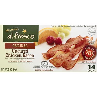 Alfresco Original Uncured Chicken Bacon