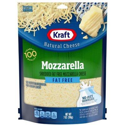 Kraft Mozzarella Fat Free Shredded Cheese