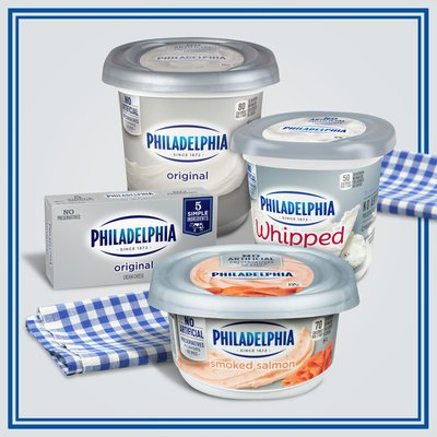Philadelphia Smoked Salmon Cream Cheese Spread
