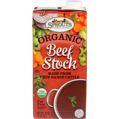 Sprouts Organic Stock Beef
