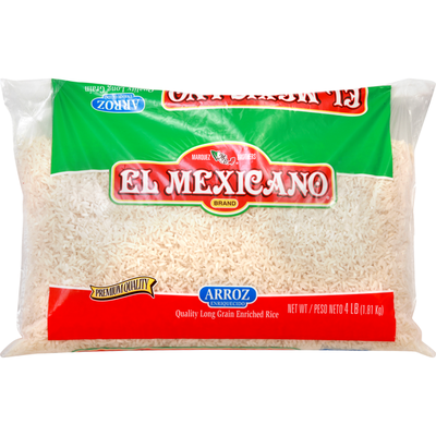 El Mexicano Rice, Long Grain, Enriched