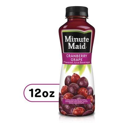 Minute Maid Cranberry Grape Bottle