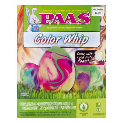 Paas Color Whip