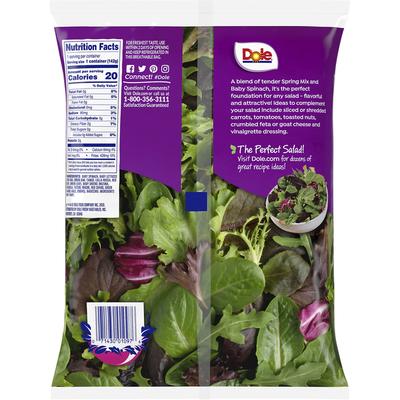 Dole Salad, 50-50