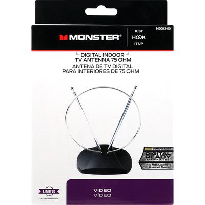 Monster TV Antenna, Digital Indoor, 75 OHM