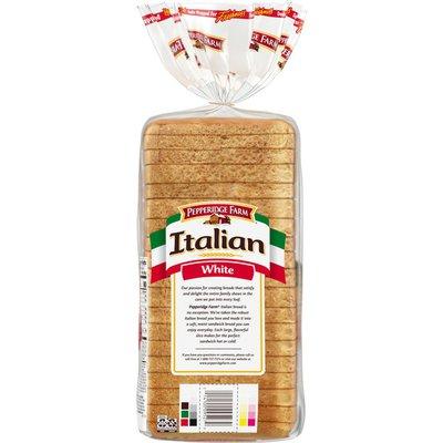 Pepperidge Farm Italian White Seedless Bread