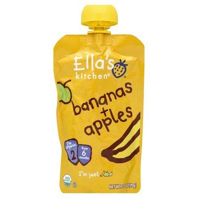 Ella's Kitchen Puree, Bananas + Apples, 2 (from 6 Months)